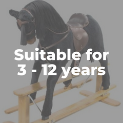 Rocking Horses for 3 years to 12 years old Toddlers and Children