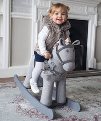 Stirling and Mac Rocking Horse 12 months
