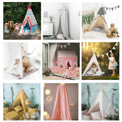 Teepee and Canopies