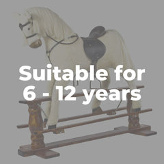 Rocking horses for 6 to 12 years old