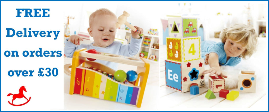 Free delivery on toys over £30