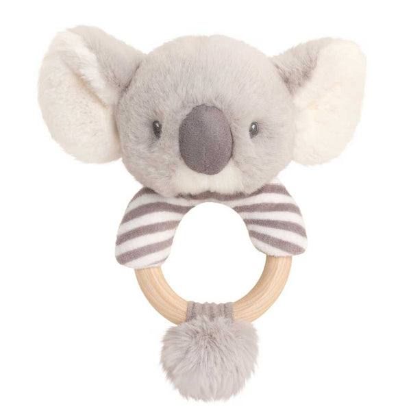 Eco-Friendly Baby Ring Rattle Koala- Recycled Plastic