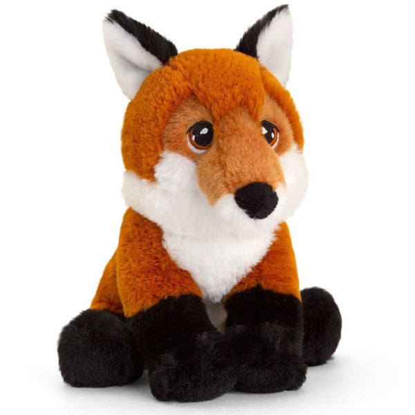 Eco-friendly Fox Soft Cuddly Toy 18cm Recycled Plastic