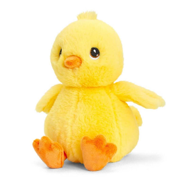 Eco-friendly Chick Soft Cuddly Toy 18cm Recycled Plastic