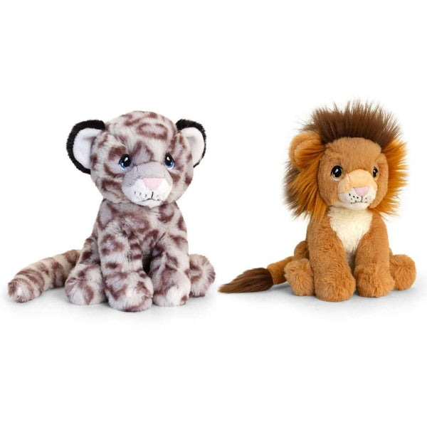 Eco-friendly Lion Soft Cuddly Toy 18m Recycled Plastic