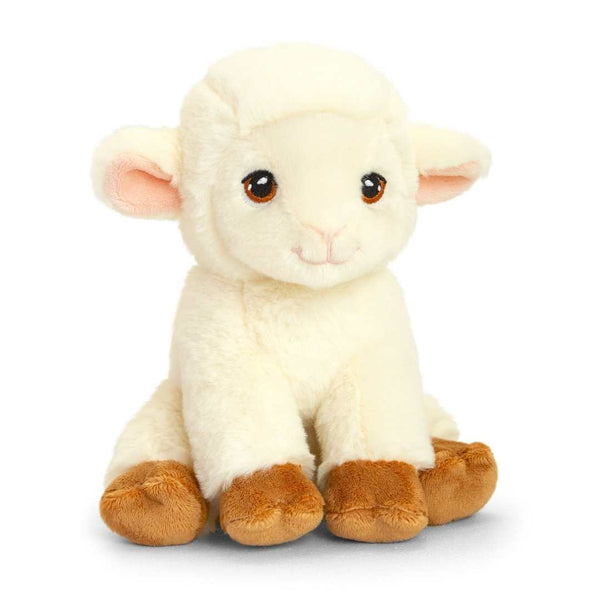 Eco-friendly Sheep Soft Cuddly Toy 19cm Recycled Plastic