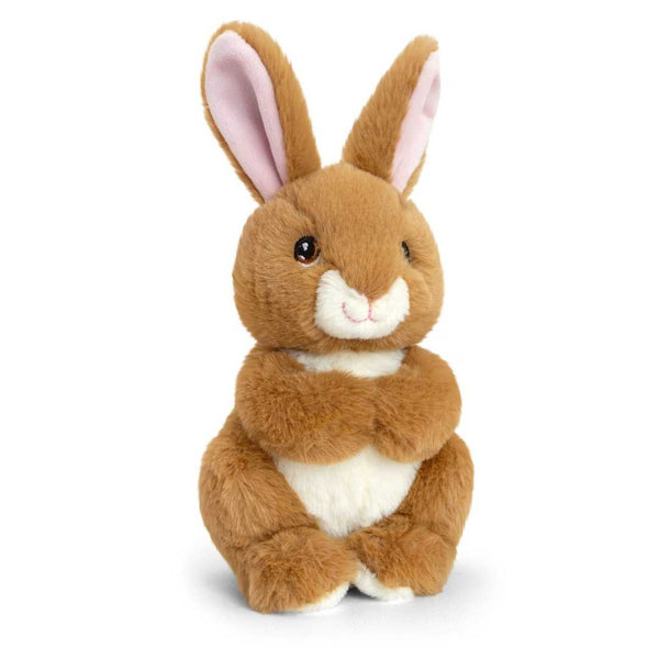 Eco-friendly Rabbit Soft Cuddly Toy 18cm Recycled Plastic