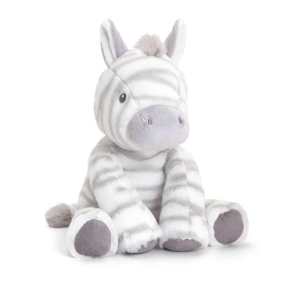 Cuddly Zebra Soft Stuffed Animal Toy 25m Recycled Plastic
