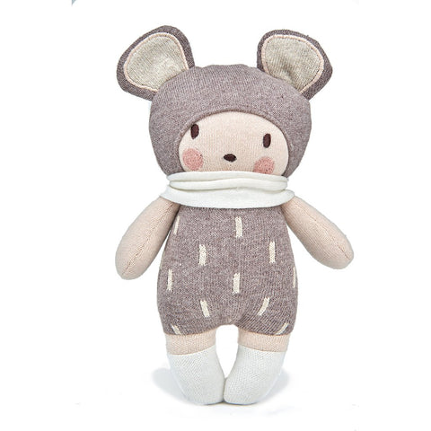 Baby Beau Knitted Doll Soft Toy in Gift Box