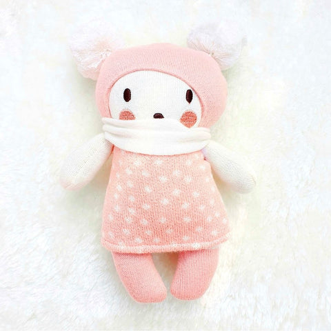 Baby Bella Knitted Doll Soft Toy in Gift Box