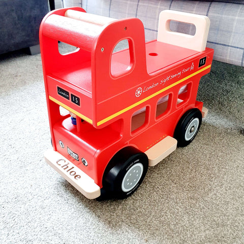 Bernie's Ride On Bus - Can Be Personalised