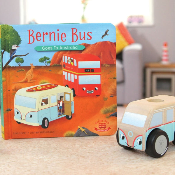 Bernie Bus Goes to Australia & Mini Colin Campervan Bundle