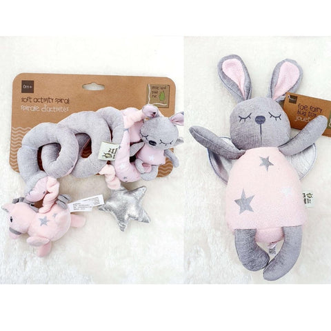 Celeste & Fae Bundle Gift Set 3 - Fae Fairy Hug Toy and Celeste & Fae Soft Activity Spiral