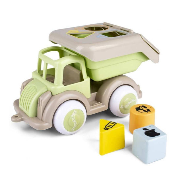 Recycling Truck for 1 Year Old - Eco-Friendly Plant-Based Plastic - JUMBO size