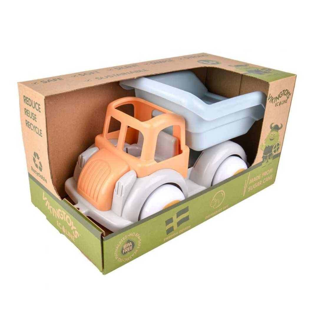 Tipper Truck Toy for 1 Year Old - Eco-Friendly Plant-Based Plastic - JUMBO size