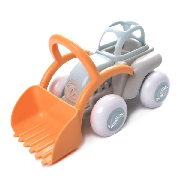 Tractor Toy for 1 Year Old - Eco-Friendly Plant-Based Plastic - MIDI size