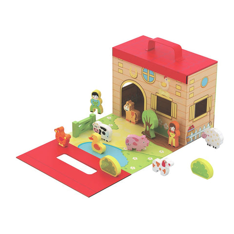 Foldaway Farm House and Animals
