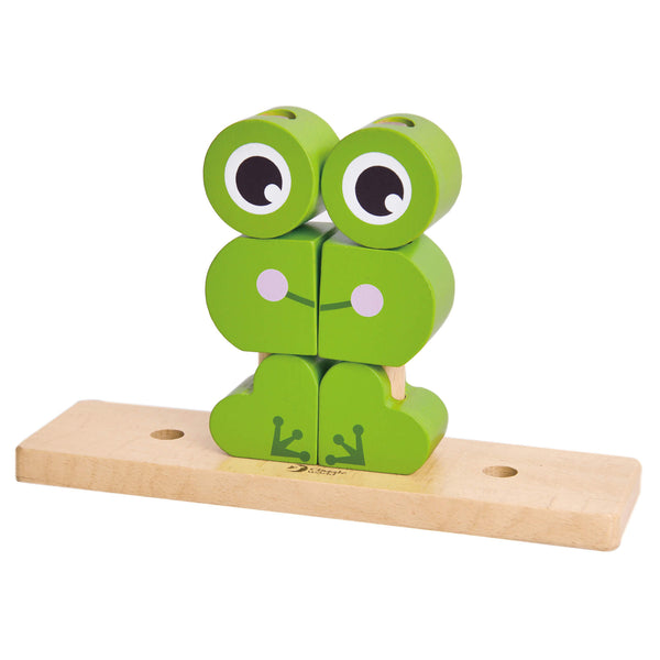 Frog Building Blocks for 18 months old