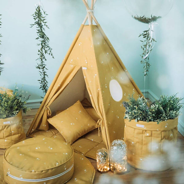 Honey Mustard Teepee Sets OEKO-TEX®100 Certified