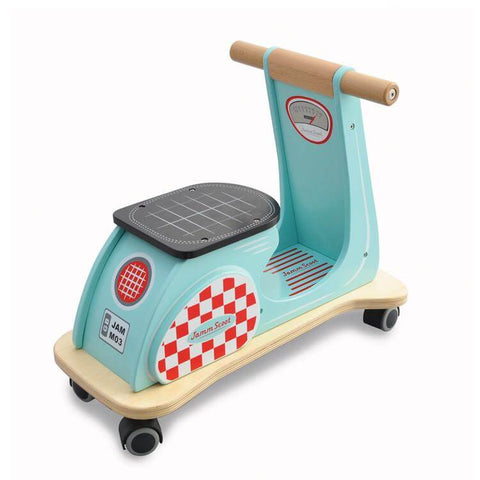 Jamm Scoot Ride On Scooter - Aqua Blue - can be personalised