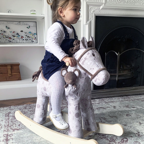 Biscuit & Skip Rocking Horse (12 months+) by Little Bird Told Me