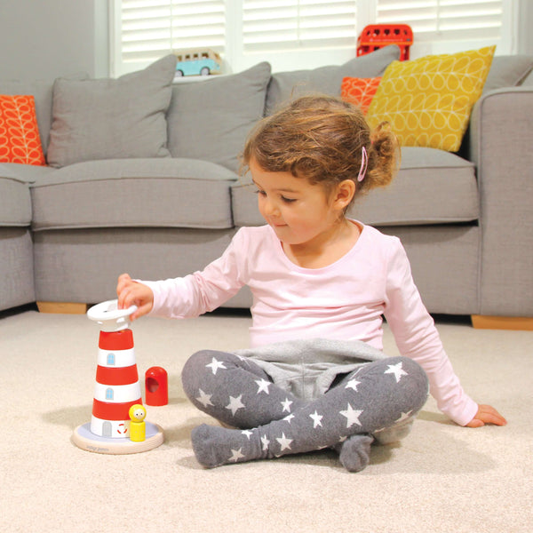 Lighthouse Stacking Toy