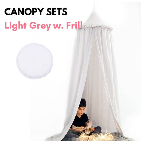 Canopy Sets with Frill Oeko-Tex®100 Certified