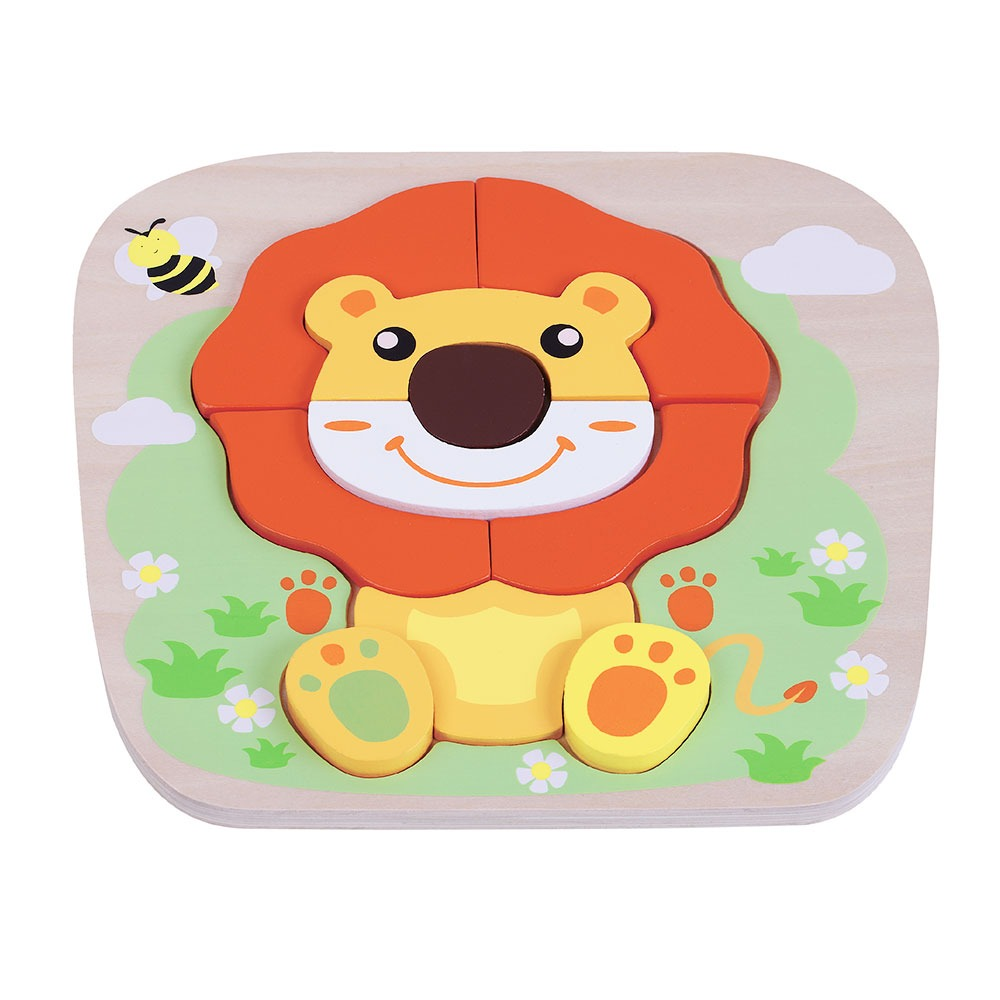 Lion Raised Puzzle Jumini