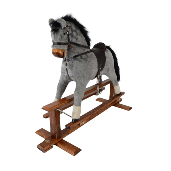 MJ Mark Rocking Horse - Mars Dapple Grey