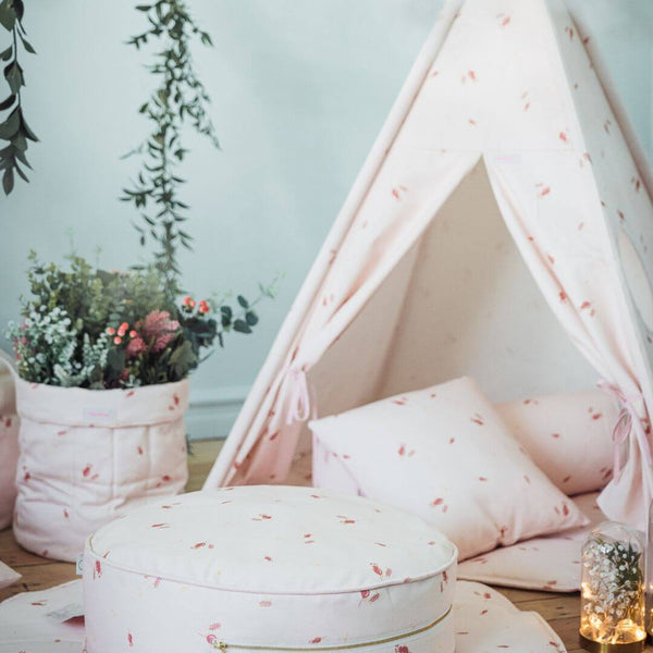 Misty Rose Pink Teepee Sets OEKO-TEX®100 Certified