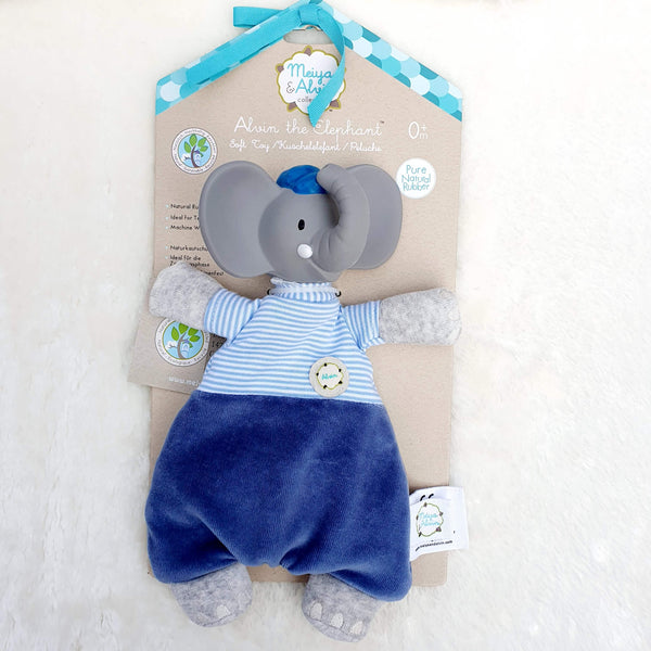 Alvin the Elephant - Soft Toys For Babies