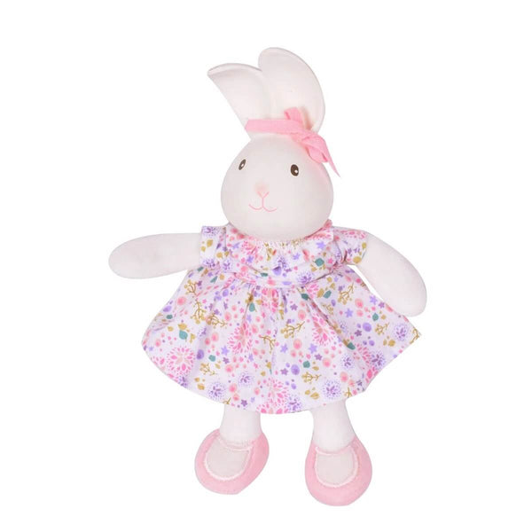 Havah the Bunny Baby Organic Cotton Soft Toy and Natural Rubber Teether