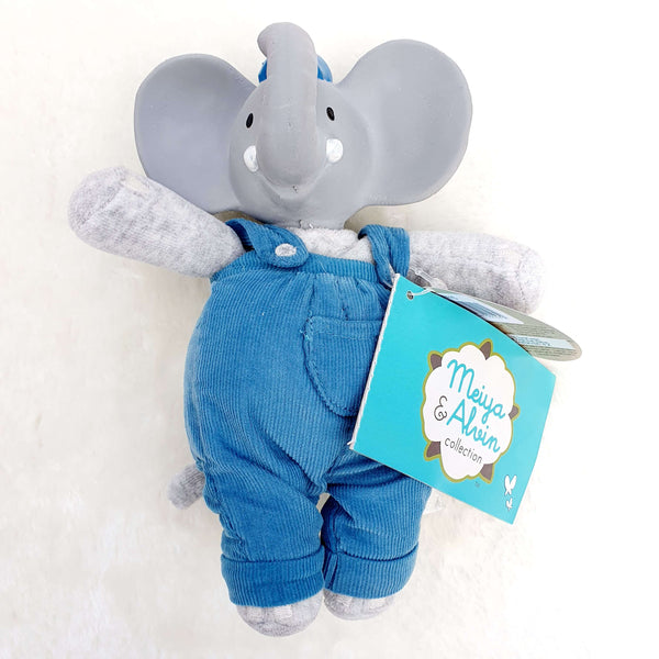Alvin the Elephant - Natural Baby Teether