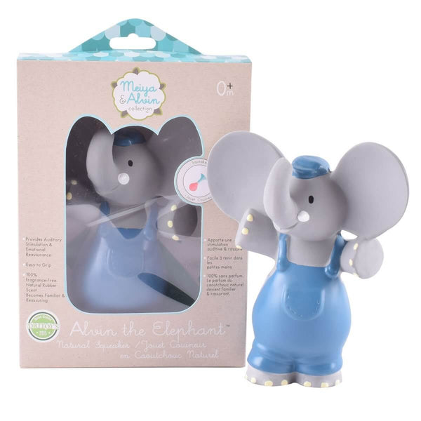 Alvin the Elephant - Natural Teething Toys