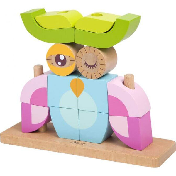 Owl Building Blocks for 18 months old