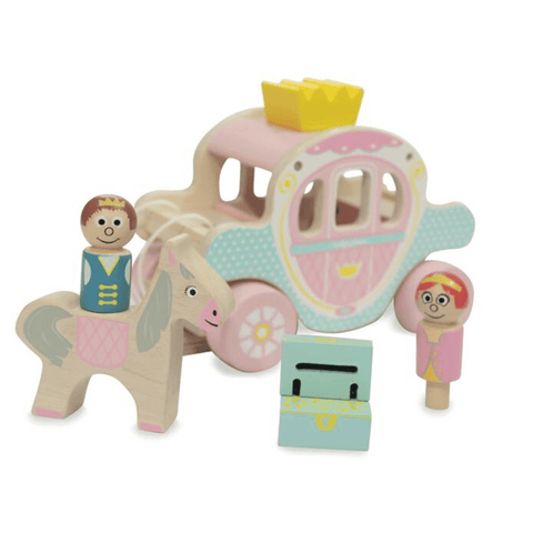 Princess & Prince Horse and Carriage Toy