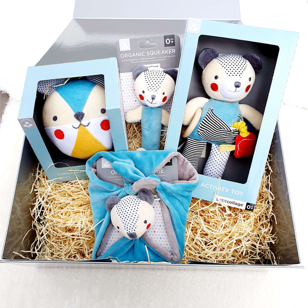 Organic Baby Gift Set / Bundle - Bear