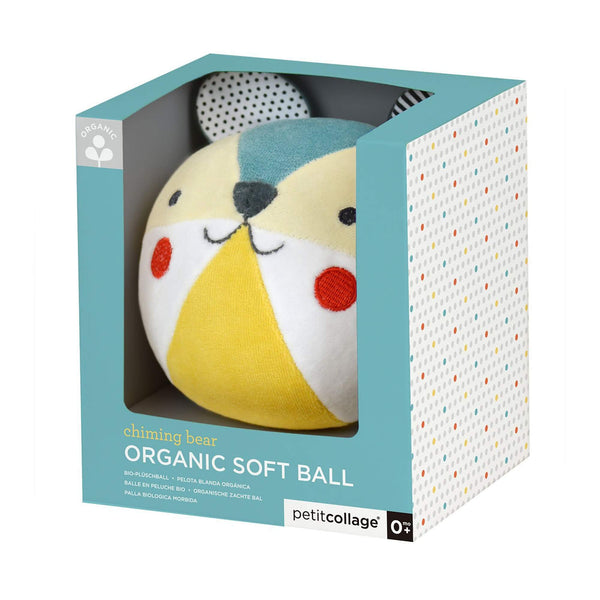 Organic Bear Soft Chime Ball