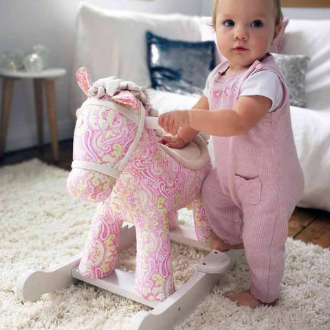Pixie and Fluff Rocking Horse (9m+) by Little Bird Told Me