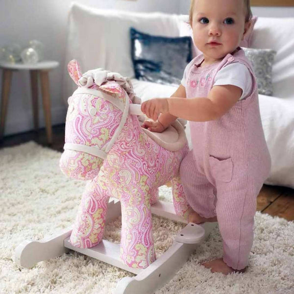 Pixie and Fluff Rocking Horse (9m+) by Little Bird Told Me - PREORDER