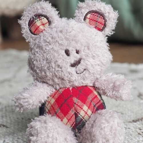 Red Bear Baby Soft Toy