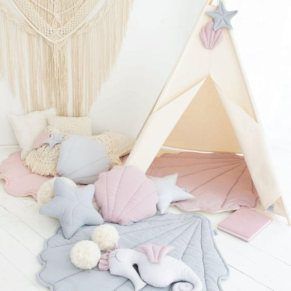 Seashell Teepee Sets Oeko-Tex®100 Certified (2 design options)