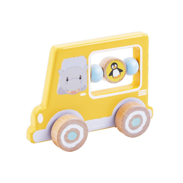 Hippo Activity Car - Wooden Toys For Children
