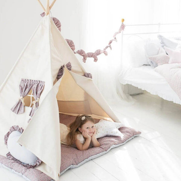 Summer Ruffle Teepee Set Oeko-Tex®100 Certified