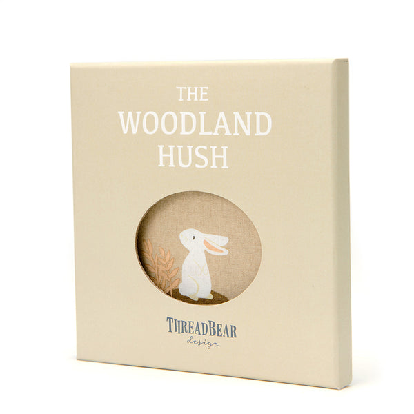 The Woodland Hush Rag Book in Gift Box
