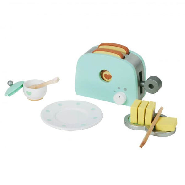 Wooden Toaster Set for 3 years old