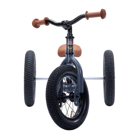 Trybike Steel and Vintage 2 in 1 trike and balance bike
