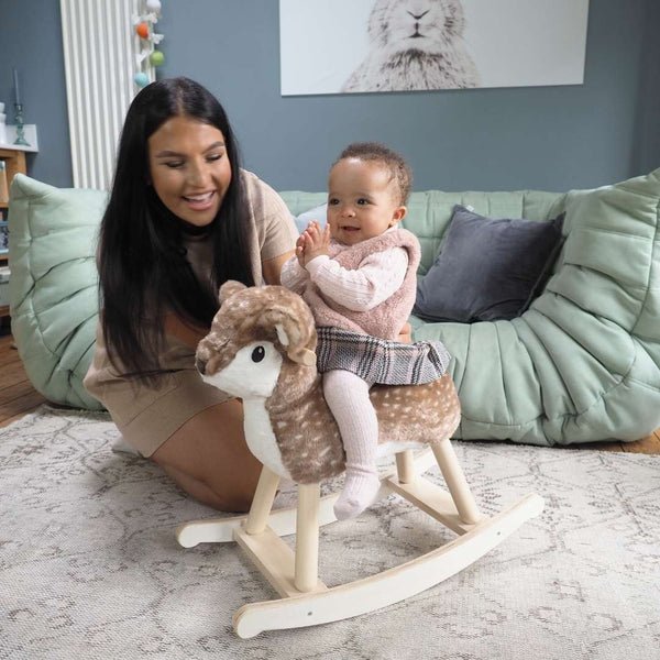 Willow Rocking Deer Animal for 9 Months Old - PREORDER