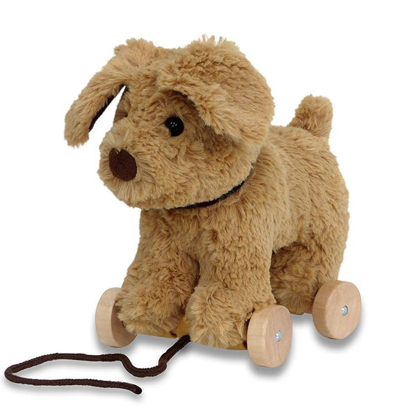 Baby Toys - Dexter Dog Pull Along By Little Bird Told Me
