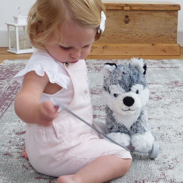 Baby Toys - Mishka Dog Pull Along By Little Bird Told Me